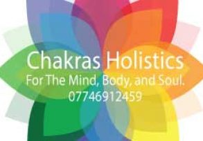 Chakras Holistics Business Card