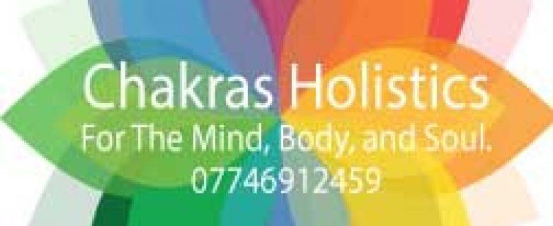 Chakras Holistics Business Card